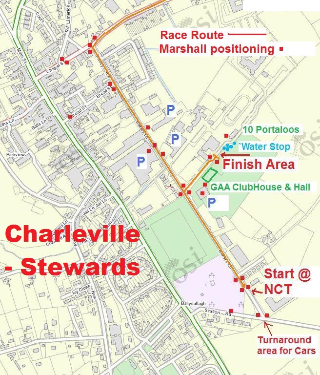 Steward Map 1 - Charleville Detailed