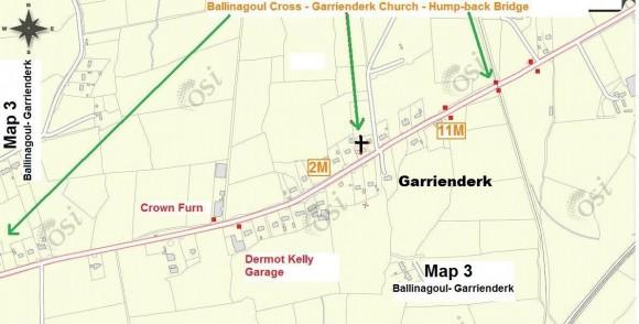 Steward Map 3 - Ballinagoul - Garrienderk Bridge