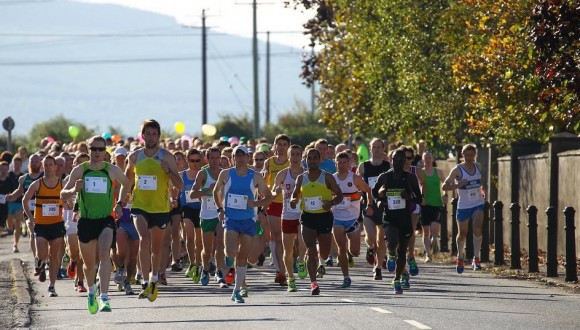 The start of the 2013 Charleville International Half-Marathon hosted by North Cork AC