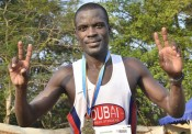 Ugandan Ismail Ssenyange of Dubai Creek Striders who will return to compete at the Charleville International Half-Marathon this year