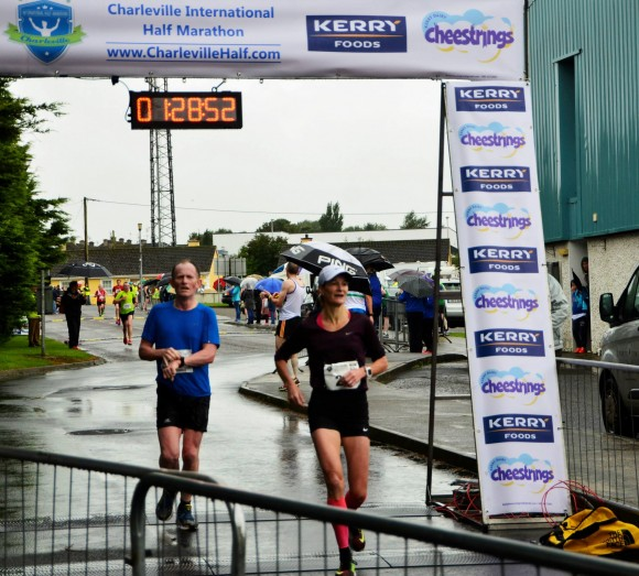 Sonia O'Sullivan finishes Charleville International Half-Marathon 20.9.2015
